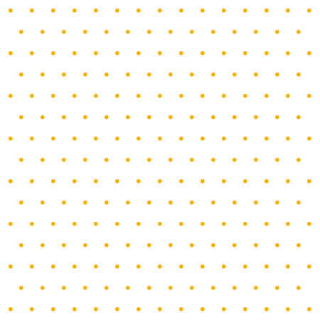 Halloween pattern polka dots. Template background in white and orange polka dots . Seamless fabric texture. Vector illustration