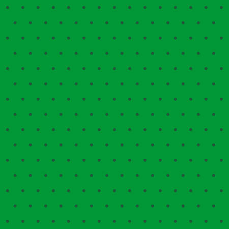 St. Patricks day pattern polka dots. Template background in green and black polka dots. Seamless fabric texture. Vector illustration