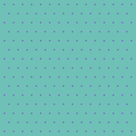 Easter pattern polka dots. Template background in green and violet polka dots. Seamless fabric texture. Vector illustration