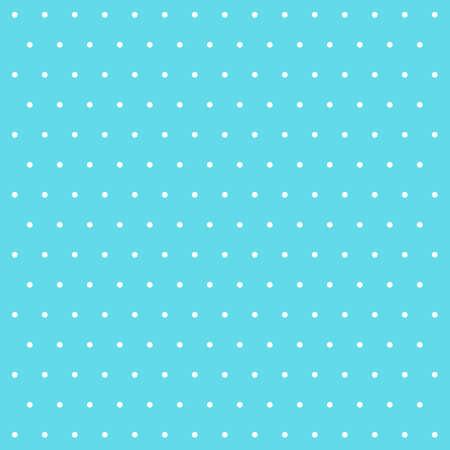 复活节图案圆点。在蓝色和白色圆点的模板背景。无缝的织品纹理。矢量图