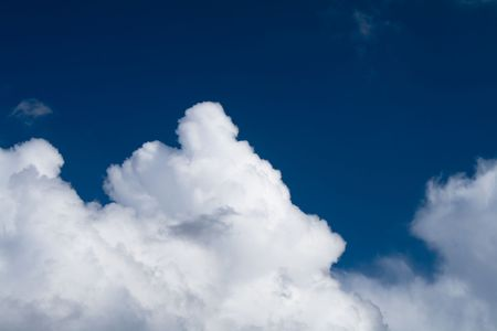 climatology: Sky and clouds Stock Photo