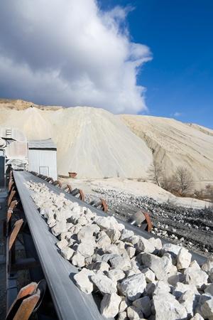 Quarrying plant