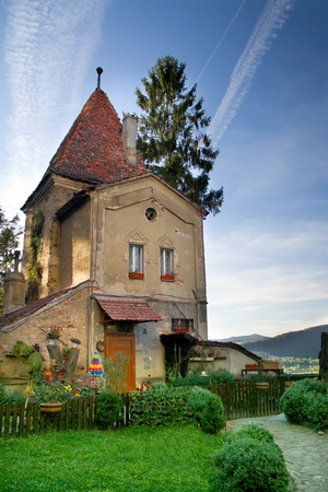 Photo of an old house