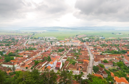 Overview of an old city Stock Photo