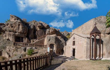 Sivisli Church in Monastery Valley Or Manastir Vadisi, Guzelyurt, Aksaray Province, Cappadocia, Turkey Redactioneel