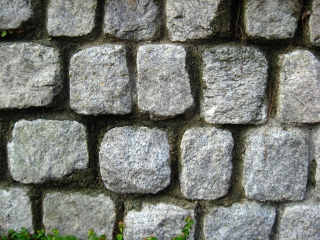 mitzrah: Many rocks make up a sturdy wall photo