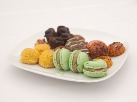 Macarons and Biscuits for Tea