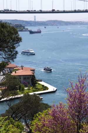 Scenic Landscape Photo of the Bosphorus Strait from Kanlica, Istanbul, Turkey Stock Photo - 9676707