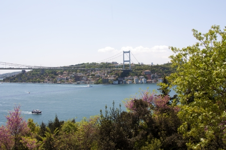 Scenic Landscape Photo of the Bosphorus Strait from Kanlica, Istanbul, Turkey Stock Photo - 9676705