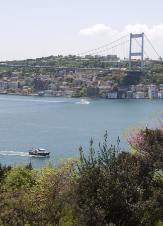 Scenic Landscape Photo of the Bosphorus Strait from Kanlica Stock Photo - 9676702