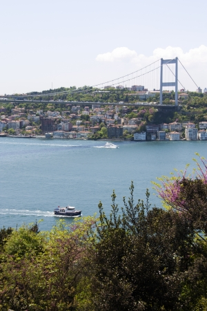 Scenic Landscape Photo of the Bosphorus Strait from Kanlica, Istanbul, Turkey Stock Photo - 9676704