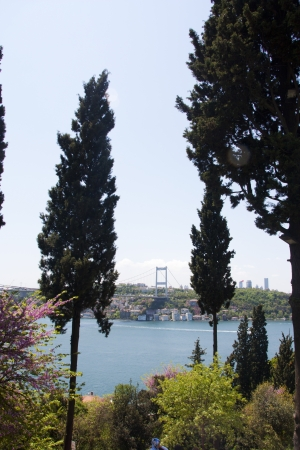 Scenic Landscape Photo of the Bosphorus Strait from Kanlica, Istanbul, Turkey Stock Photo - 9676708