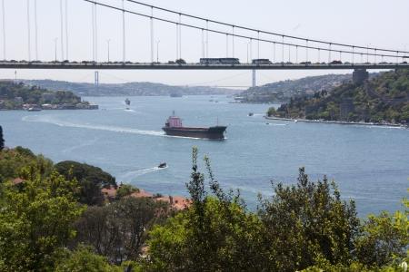 Scenic Landscape Photo of the Bosphorus Strait from Kanlica, Istanbul, Turkey Stock Photo - 9676706