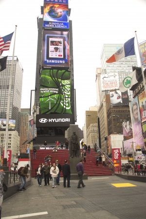 Times Square, New York City, United States of America - Francis P. Duffy Stock Photo - 11314412