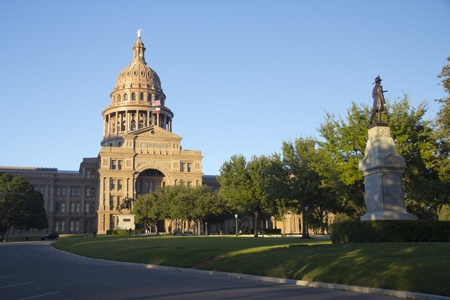 Austin, Texas - Texas State Capitol Building in the late afternoon Stock Photo - 11347859