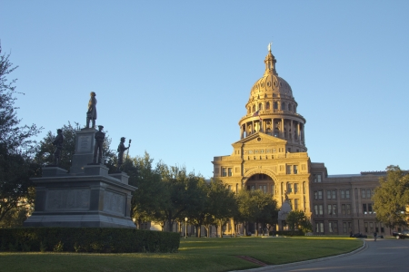 Austin, Texas - Texas State Capitol Building in the late afternoon
