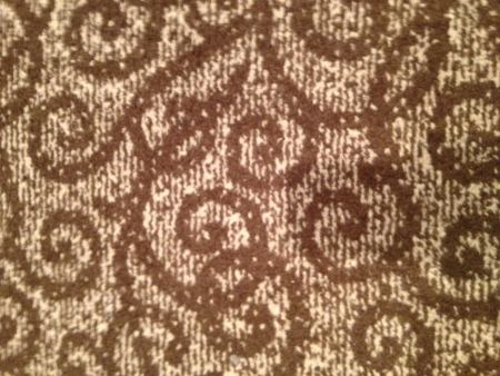 Carpet with Organic patterns background