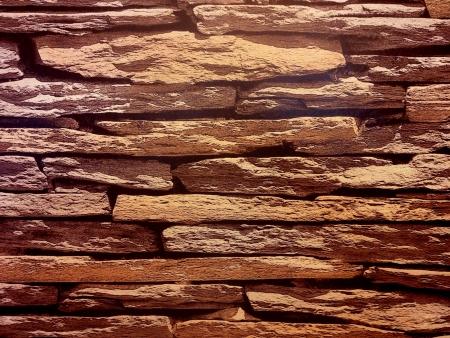 Slate brick wall background