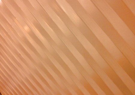 Wavy rectangles make for an interesting wall finishing  Stock Photo