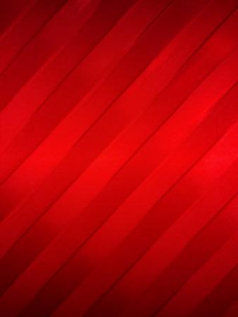gradual: Cintas rojas diagonales con pendiente gradual