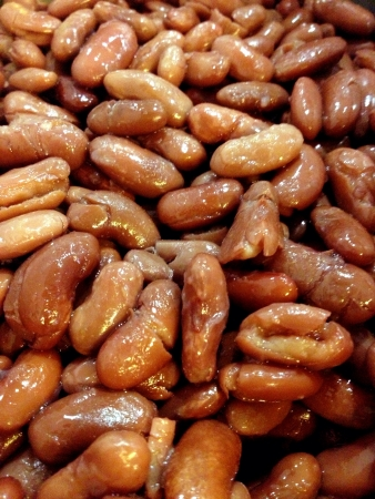 A Close Up Shot of Cooked Kidney beans