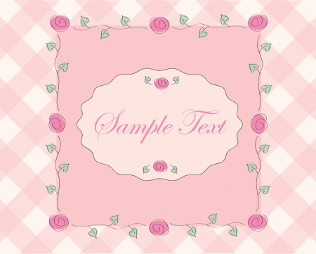 rose frame  Stock Vector - 16642658