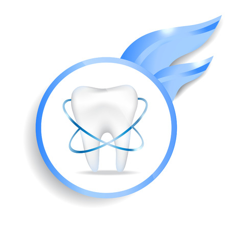Illustration of dental protecting.EPS 10 file.