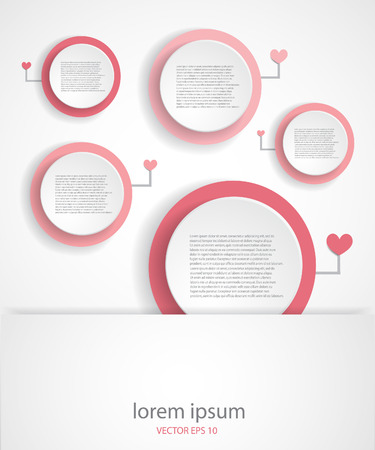 Minimalistic design background. EPS 10 vector file. Illustration