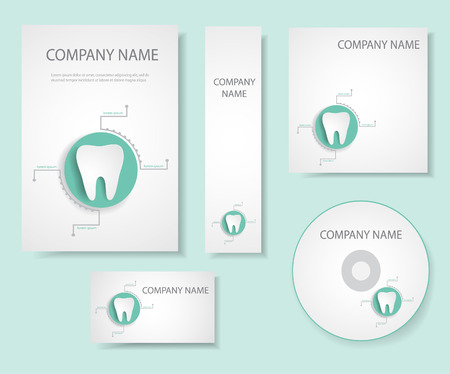 Dental corporate identity.