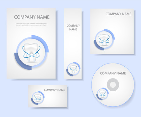 Dental corporate identity.