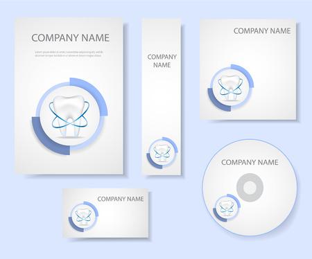 identity protection: Dental corporate identity.