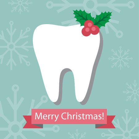 Dental Christmas card.