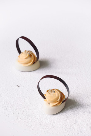 Contemporary Mini Mousse Cakes