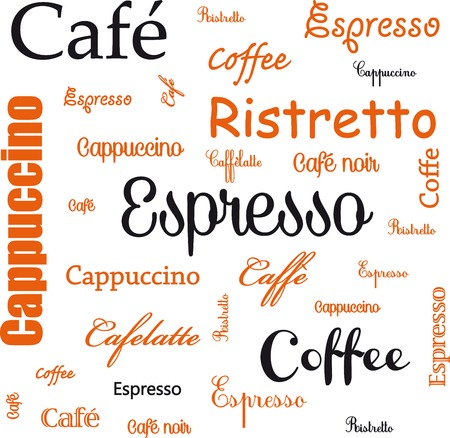 fond: Espresso - Coffee- Caf�- fond Illustration