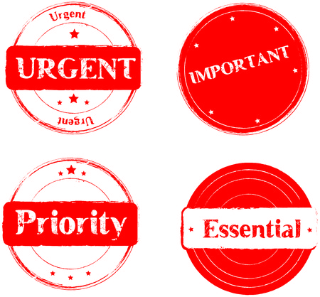 routed: Urgent-Important- priority-essential,