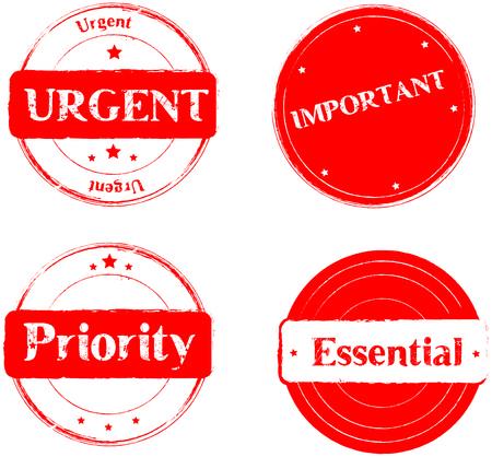 routed: Urgent-Important- priority-essential,