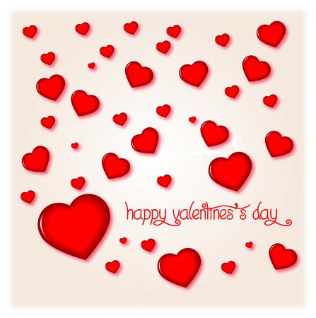 Happy Valentines Day illustration