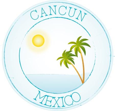 cancun: Stamp Cancun