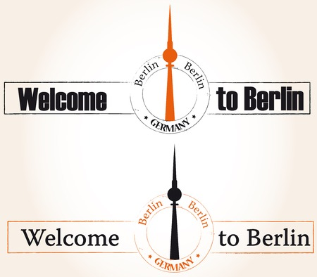 Welcome to Berlin Vector