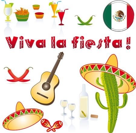 Background Mexico Illustration