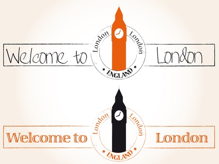 Welcome to London Vector