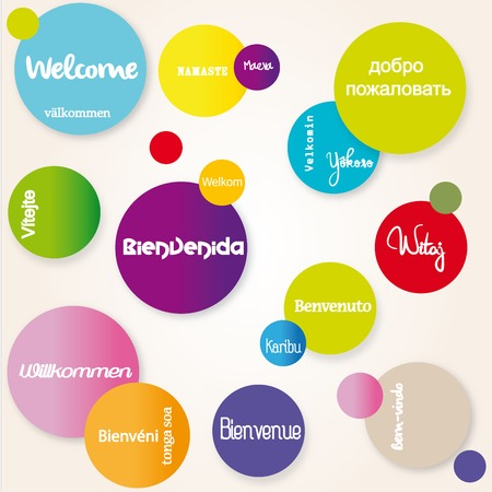 multilingual: Background Welcome