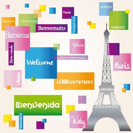 chap: Welcome Paris Illustration