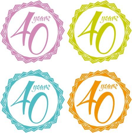 distinguished: 40 years