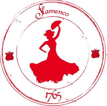 flamenca bailarina: Bailaora Vectores