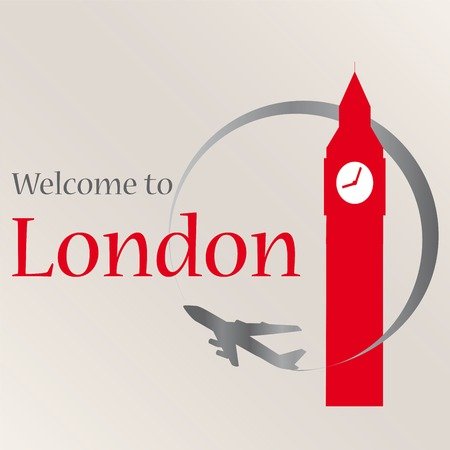 Welcome to London Vettoriali