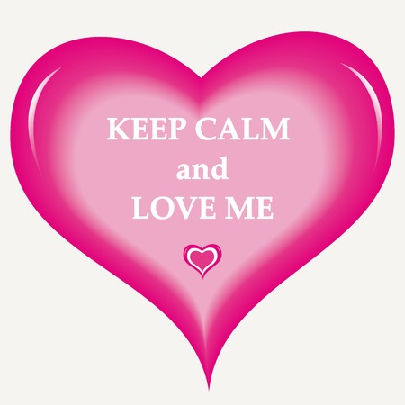 Background keep calm and love me