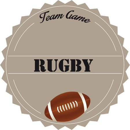 Rugby Stamp