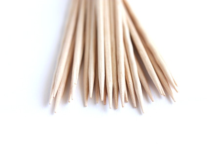 toothpick: Wooden Toothpick Stock Photo