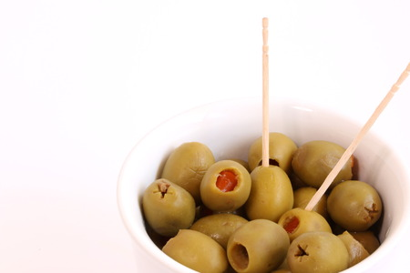 pimiento: Stuffed Green Olives